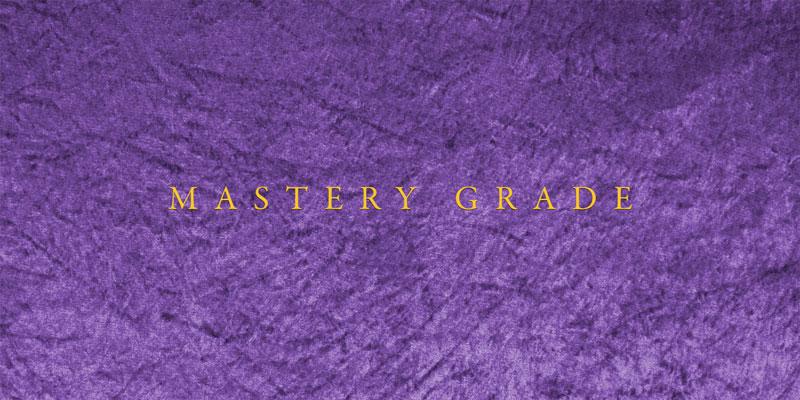 Mastery Grades
