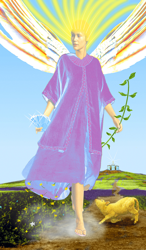 The Angels Script | Sandalphon